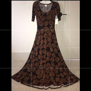 LuLaroe Ana Dress Roses